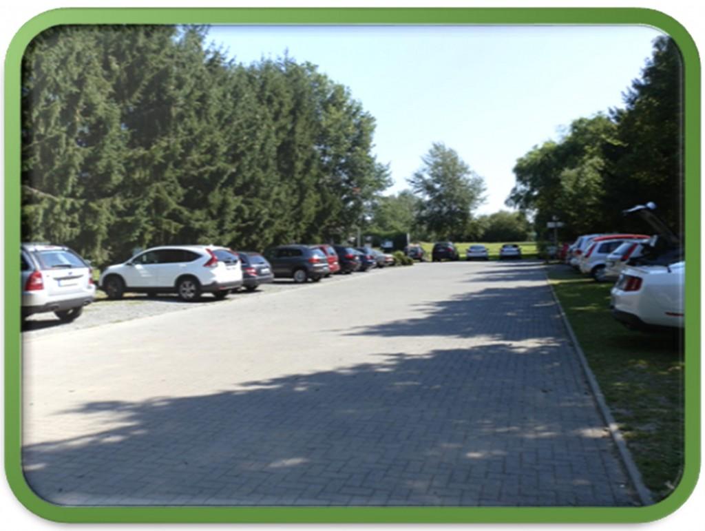 SSZ-Parkplatz